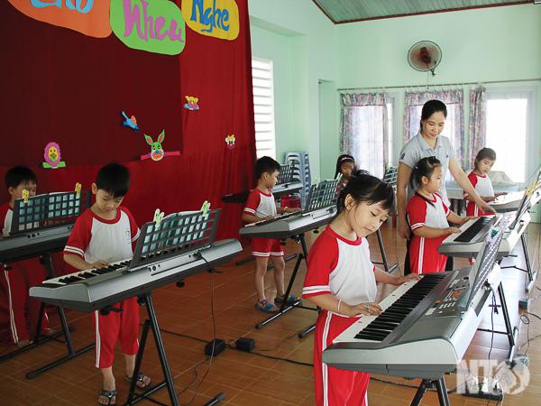 Tp. Phan Rang-Tháp Chàm: Nâng cao chất lượng giáo dục cấp học Mầm non