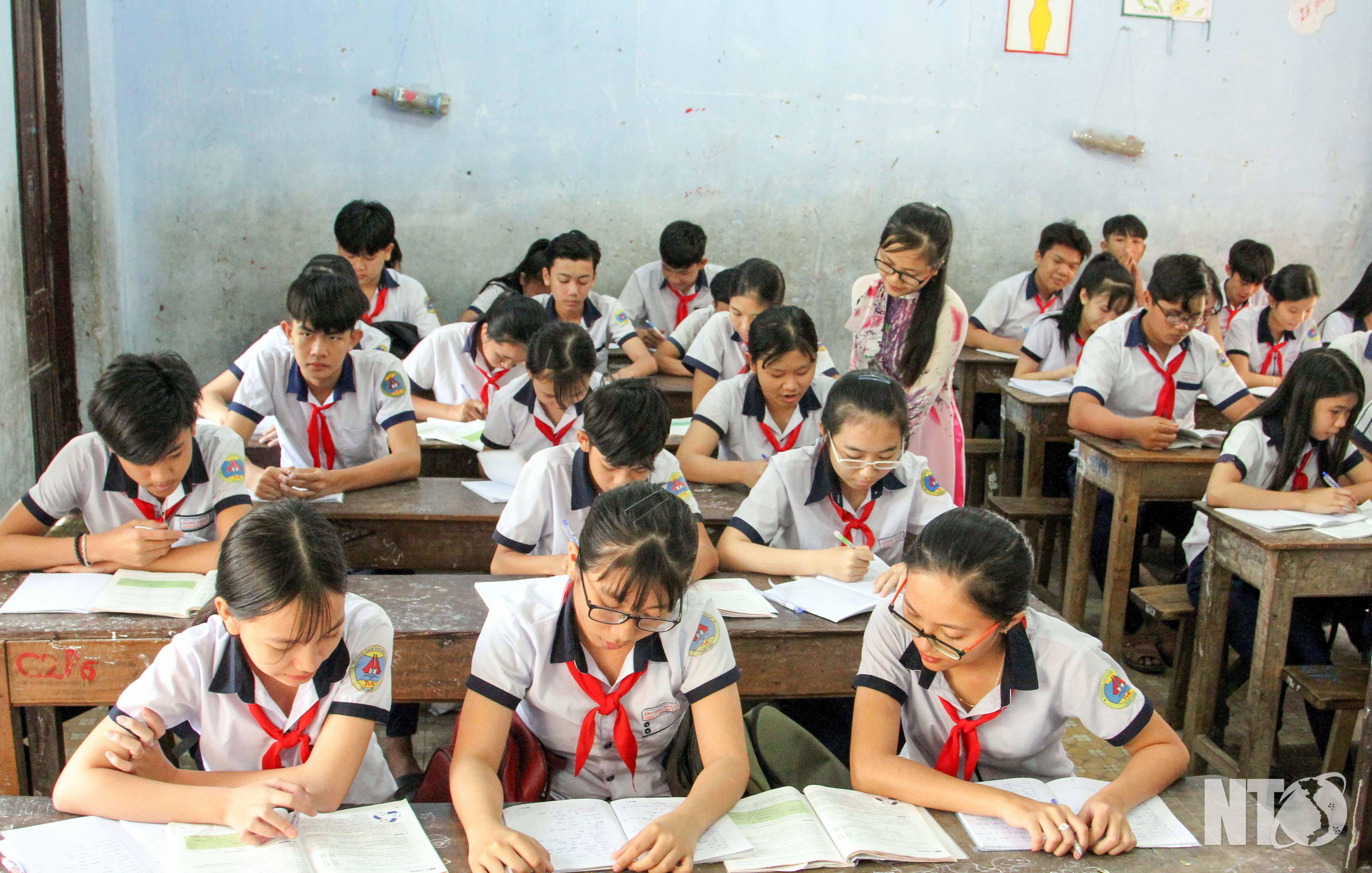 Ngôi trường xứng danh mang tên Anh hùng Liệt sĩ Trương Văn Ly