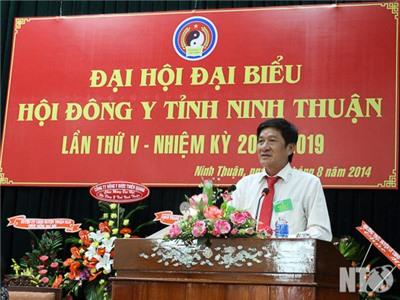 Đại hội Hội Đông y tỉnh Ninh Thuận lần thứ V, nhiệm kỳ 2014-2019