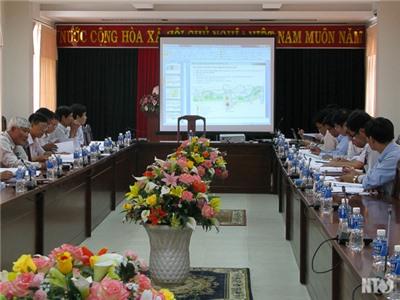 UBND tỉnh cho ý kiến về Đồ án Quy hoạch chi tiết xây dựng Khu đô thị hai bên bờ sông Dinh