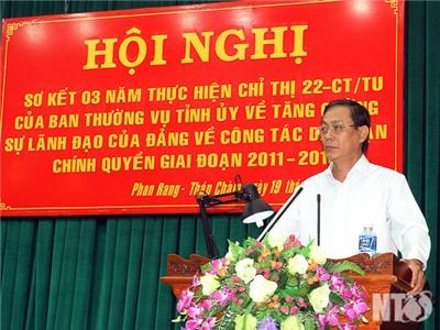 Tỉnh ủy sơ kết 3 năm triển khai thực hiện Chỉ thị số 22-CT/TU của Ban Thường vụ Tỉnh ủy