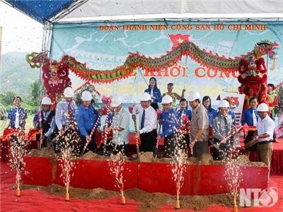 Khởi công xây dựng làng Thanh niên lập nghiệp Phước Đại