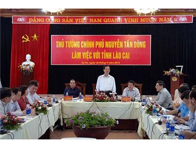 Thủ tướng: Lào Cai cần phát huy tối đa lợi thế để phát triển