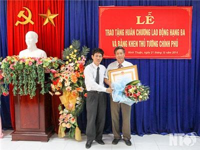 Sở Nội vụ tổ chức trao Huân chương Lao động hạng Ba và Bằng khen Thủ tướng Chính phủ