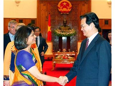 Thủ tướng tiếp đại diện các tổ chức của Liên Hợp Quốc tại Việt Nam