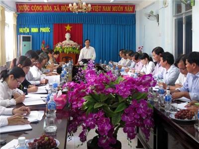 Thường trực HĐND tỉnh làm việc với hai huyện Ninh Phước và Thuận Nam