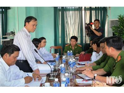 Đoàn ĐBQH tỉnh làm việc với Công an Tp.Phan Rang-Tháp Chàm về tình hình oan, sai trong việc áp dụng pháp luật về hình sự, tố tụng hình sự