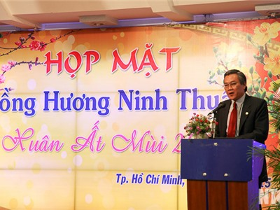 Họp mặt đồng hương Ninh Thuận tại TP. Hồ Chí Minh