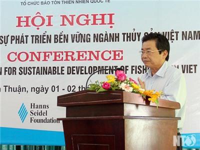 Hội nghị bảo tồn biển vì sự phát triển bền vững thủy sản