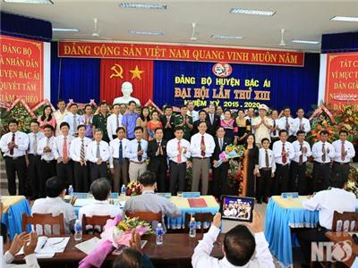 Bế mạc Đại hội Đảng bộ huyện Bác Ái lần thứ XIII, nhiệm kỳ 2015-2020