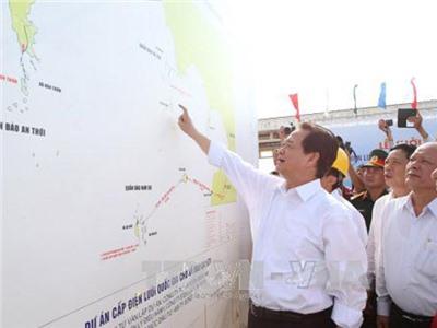 Khởi công Dự án Cấp điện lưới quốc gia xã đảo Lại Sơn