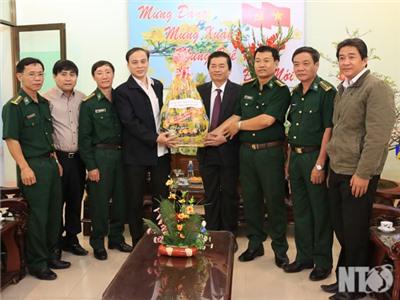 Ninh Thuận: Các đồng chí lãnh đạo tỉnh thăm, chúc Tết các cơ quan, đơn vị đêm Giao thừa