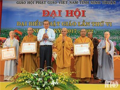 Đại hội đại biểu Phật giáo tỉnh nhiệm kỳ 2017-2022