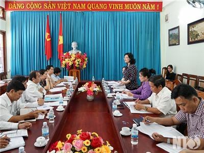 Đoàn đại biểu Quốc hội tỉnh giám sát tại Sở Nông nghiệp và Phát triển nông thôn