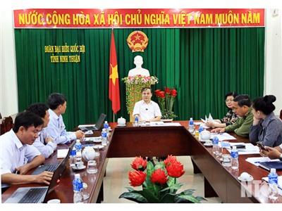 Đoàn Đại biểu Quốc hội đơn vị tỉnh làm việc với Tổng công ty Phát điện 3