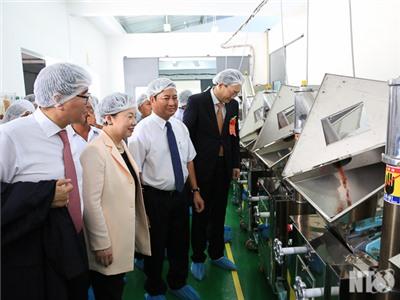 Khánh thành Cơ sở chế biến nông sản HTX Dịch vụ Tầm Ngân