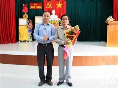 Công bố Quyết định bổ nhiệm Tổng Biên tập Báo Ninh Thuận