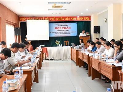 Hội thảo triển khai mô hình Chợ thí điểm bảo đảm an toàn thực phẩm