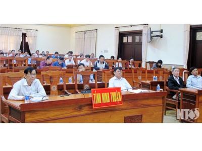 Ban Tuyên giáo Trung ương tổ chức Hội nghị trực tuyến báo cáo viên tháng 12-2017