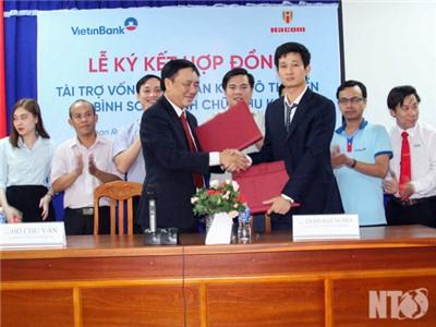 ViettinBank Ninh Thuận hỗ trợ vốn cho dự án Khu đô thị biển Bình Sơn – Ninh Chữ