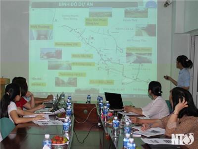 Thảo luận cơ chế phối hợp công tác truyền thông cộng đồng về Tiểu dự án Tp. Phan Rang - Tháp Chàm