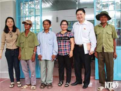 Đoàn đại biểu Quốc hội đơn vị tỉnh tiếp xúc cử tri các địa phương