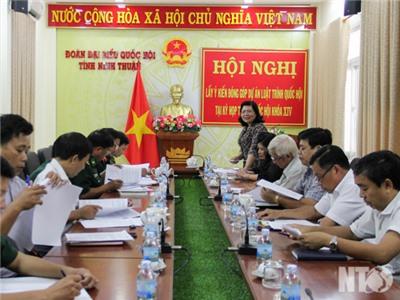 Đoàn đại biểu Quốc hội đơn vị tỉnh: Lấy ý kiến góp ý Dự thảo Luật Bảo vệ bí mật nhà nước và Luật Cảnh sát biển Việt Nam