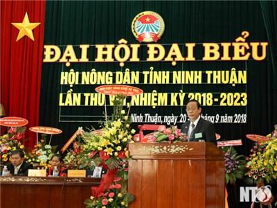 Bài phát biểu của đồng chí Nguyễn Đức Thanh, Ủy viên Trung ương Đảng, Bí thư Tỉnh ủy, Chủ tịch HĐND tỉnh tại Đại hội đại biểu Hội Nông dân tỉnh lần thứ VIII, nhiệm kỳ 2018-2023
