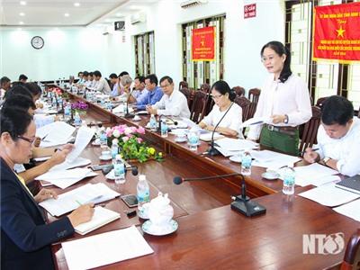 Ban Dân tộc HĐND tỉnh giám sát việc thực hiện phát triển kinh tế - xã hội miền núi tại huyện Ninh Sơn