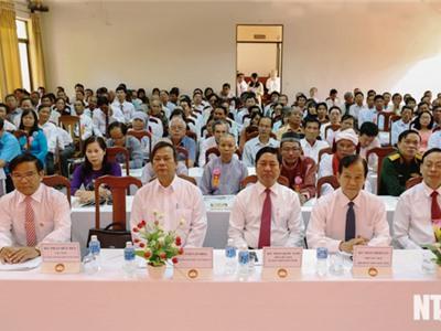 Họp mặt kỷ niệm 88 năm Ngày truyền thống Mặt trận Tổ quốc Việt Nam