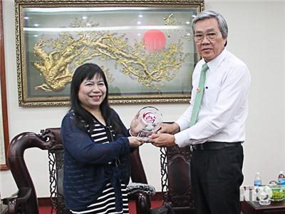 Đồng chí Lê Văn Bình, UVTV Tỉnh ủy, Phó Chủ tịch UBND tỉnh làm việc với Tổ chức Phát triển Hà Lan