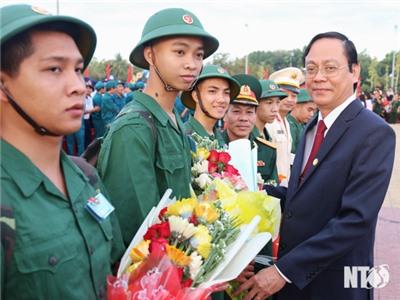 Ninh Thuận: Náo nức ngày hội tòng quân