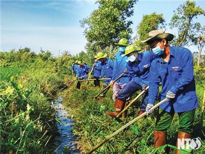 Tuổi trẻ Ninh Thuận phát huy truyền thống, xung kích, sáng tạo, tình nguyện trong xây dựng và bảo vệ Tổ quốc