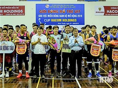Khai mạc giải bóng rổ U17 khu vực Miền đông Nam bộ mở rộng năm 2019