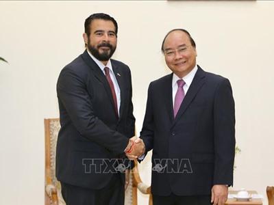 Thủ tướng Nguyễn Xuân Phúc tiếp Đại sứ Panama