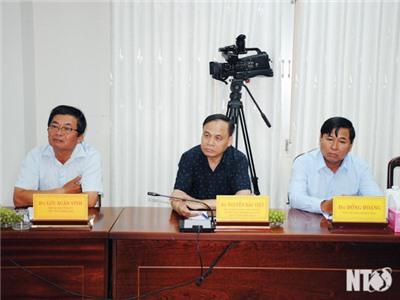 Đoàn công tác của Ủy ban Quản lý vốn nhà nước tại doanh nghiệp làm việc với tỉnh ta