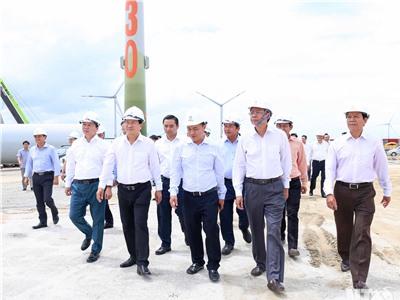 Phó Thủ tướng Chính phủ Trịnh Đình Dũng thăm và làm việc tại Ninh Thuận