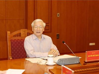 Tổng Bí thư, Chủ tịch nước chủ trì họp Thường trực Ban Chỉ đạo Trung ương về phòng, chống tham nhũng