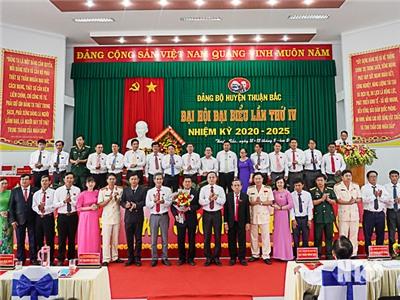 Đại hội đại biểu Đảng bộ huyện Thuận Bắc lần thứ IV, nhiệm kỳ 2020-2025