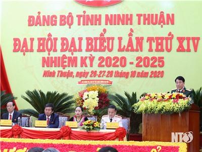 Khai mạc trọng thể Đại hội đại biểu Đảng bộ tỉnh Ninh Thuận lần thứ XIV nhiệm kỳ 2020-225