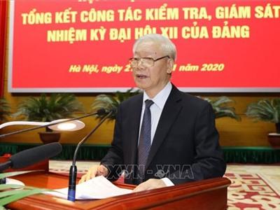 Tổng Bí thư, Chủ tịch nước Nguyễn Phú Trọng: Cán bộ kiểm tra phải là những chiến sĩ kiên cường, bản lĩnh