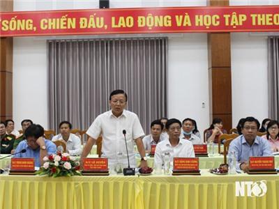 Hội nghị thẩm định đề nghị xét, công nhận huyện Ninh Hải đạt chuẩn nông thôn mới