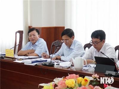 UBND tỉnh họp nghe các địa phương báo cáo Kế hoạch sử dụng đất năm 2021