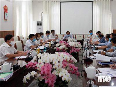 UBND tỉnh họp nghe báo cáo về tình hình thu ngân sách từ nguồn lực đất đai