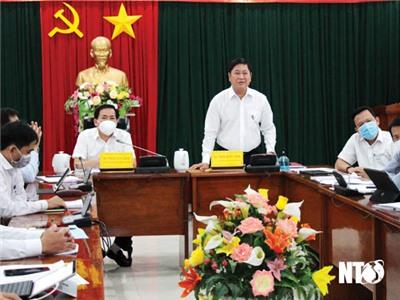 Hội nghị thẩm định Quy hoạch chung xây dựng Khu du lịch quốc gia Ninh Chữ