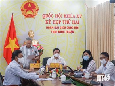 Quốc hội thảo luận trực tuyến về công tác phòng, chống tham nhũng